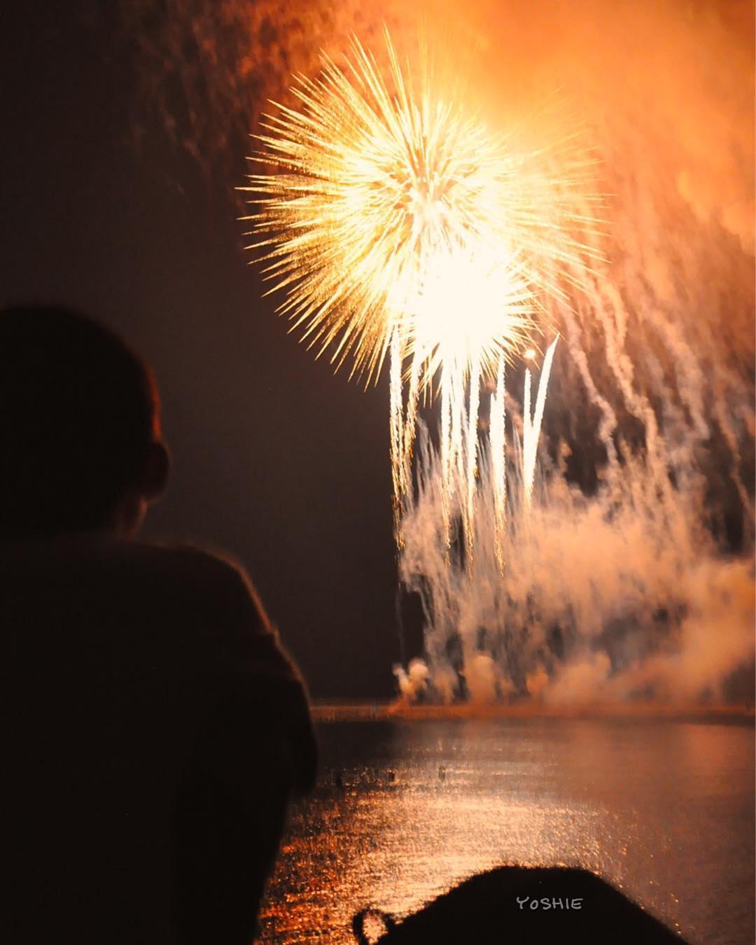 8月15日、小ちゃな我が家で一緒に花火を見ましょうin淡路島