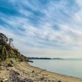 淡路島の海岸線
