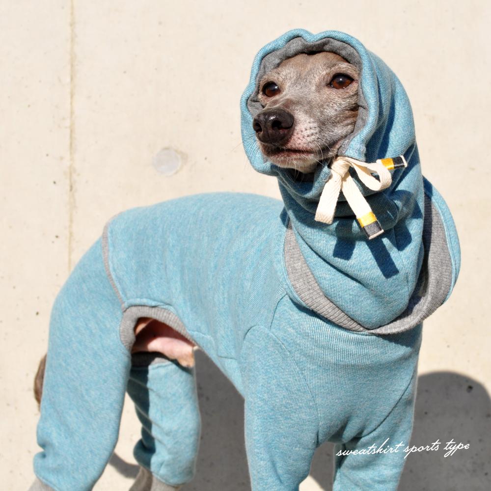 犬服|トレーナー|スポーツタイプ|選べる4タイプ×8カラー(ポピーレッド/栗色/ロイヤルブルー/杢ピンク/杢ブルー/杢ベージュ/杢レッド/杢ネイビー)