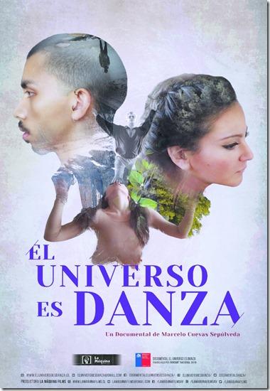 Afiche El Universo es Danza sin fecha
