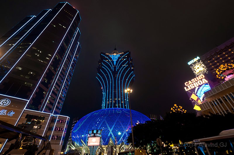 Macau, mix of east and west