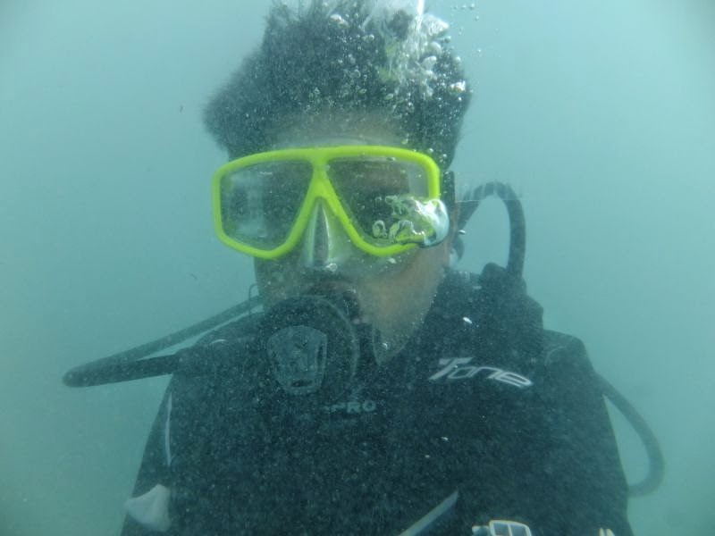 Scuba diving experience in Havelock
