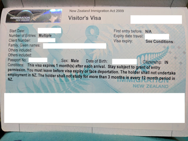 New Zealand visa for Indians