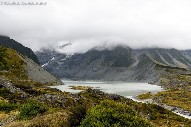 New Zealand day 3: Hooker valley track in Mt. Cook