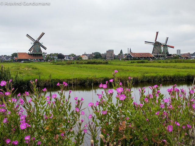 Windmills of Zaanse Schans, Netherlands