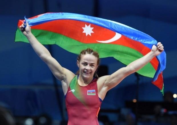 Mariya Stadnik qızıl medal qazandı - YENİLƏNİB 10 İyun 2021