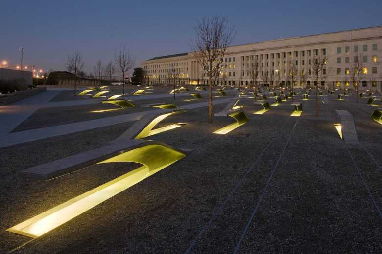 Image result for pentagon 911 memorial