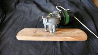 Flying book motor