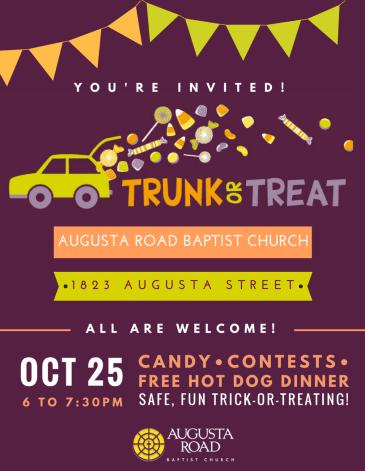 trunk-or-treat halloween event halloween