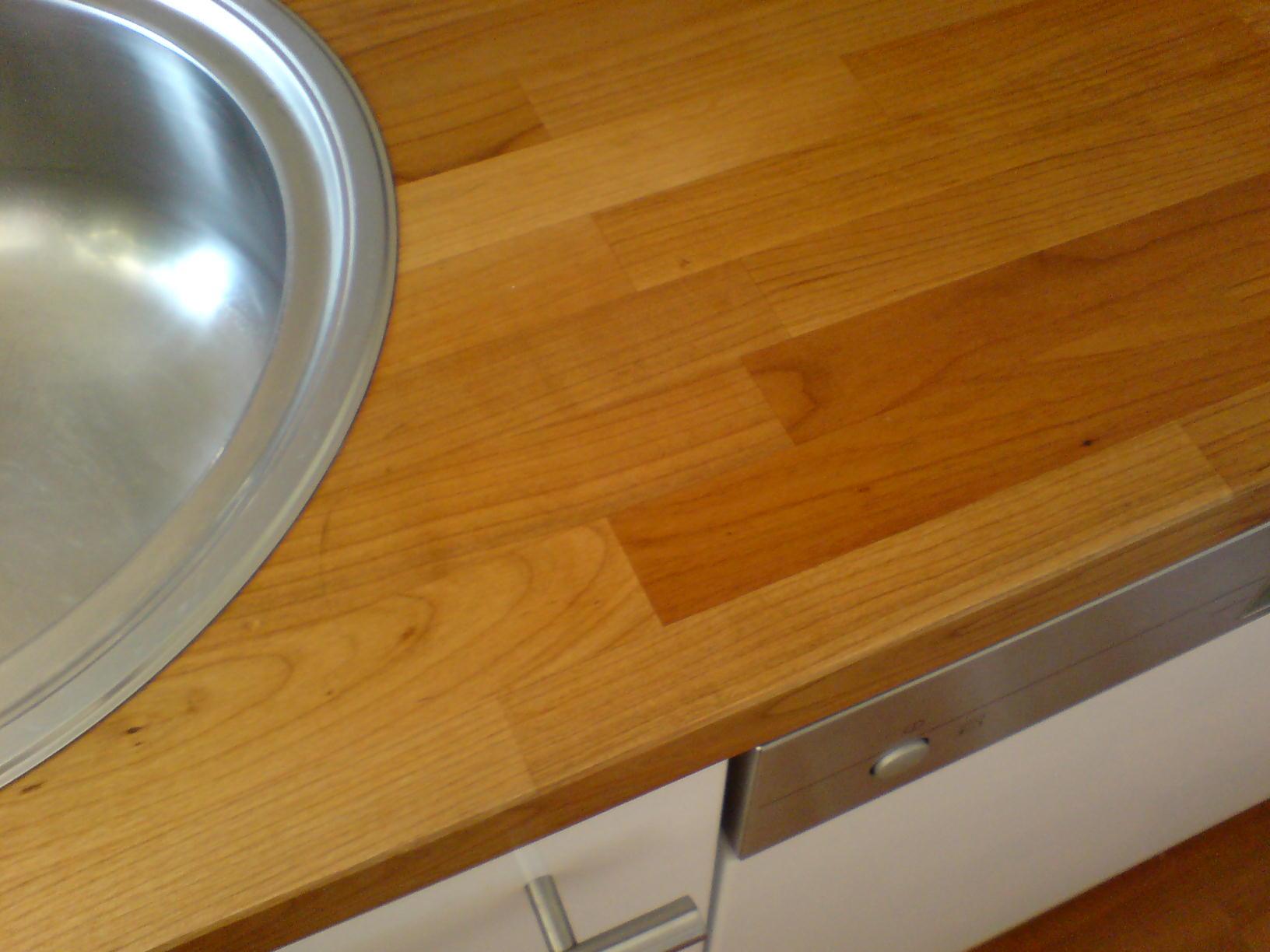 Arbeitsplatte Kirsche Kirsche Kuche Kabinette Mit Granit
