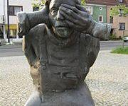 Der Arbeiter - Statue von Bernd Altenstein in Bremen.