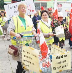 IG BAU Demo in Essen