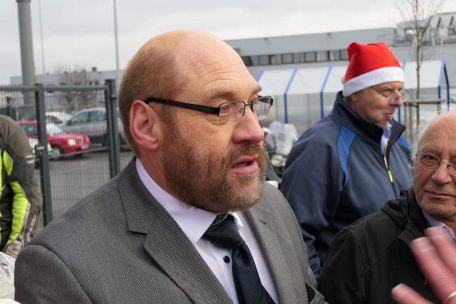 Double des SPD-Chefs Martin Schulz