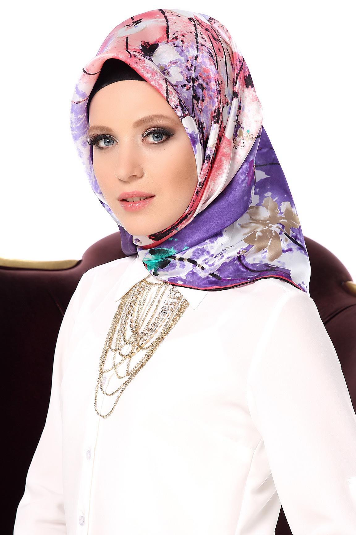 كولكشن حجابات تركية شيك موديل 2017 ، لفات طرح تركية تحفة للبنات 2017