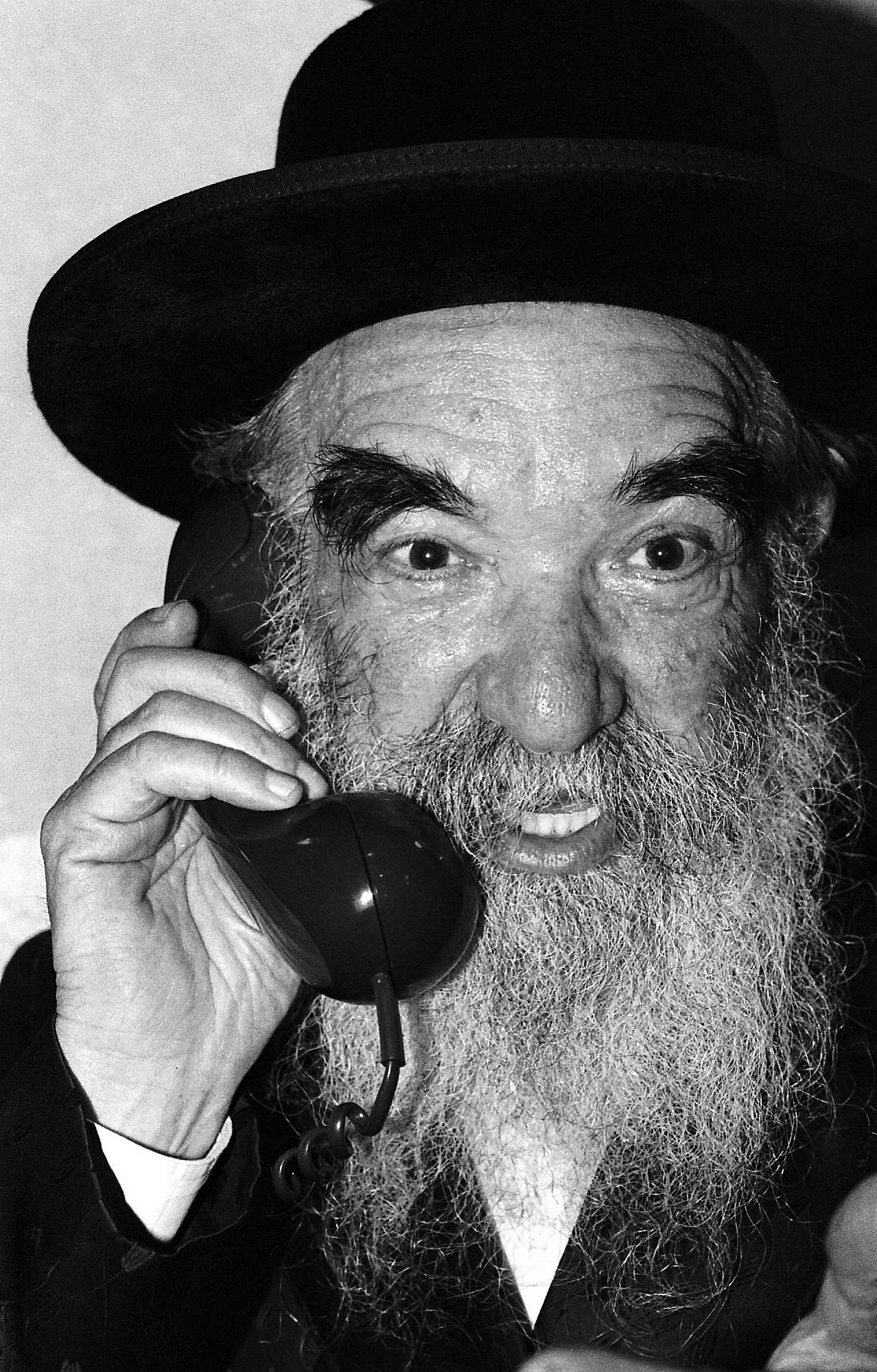 Image result for rabbi on a telephone call pictures