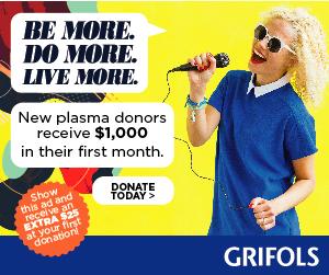 Grifols Plasma Donation