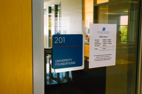 University Foundations office on Boise State campus.