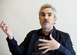 """El director Alfonso Cuaron habla sobre la película """"Roma"""" El 4 de noviembre de 2018 en Hollywood.  (Armando Gallo / Zuma Press / TNS)"""