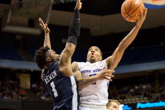 Boise State Men's Basketball vs. Utah State, Brooke Sutton Photo