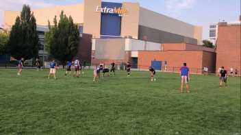 Intramural flag football at Boise State