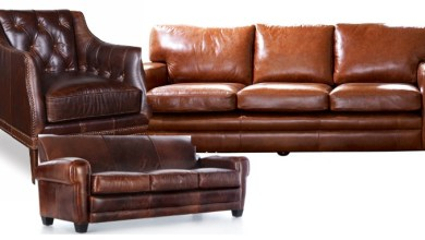 full grain leather chairs