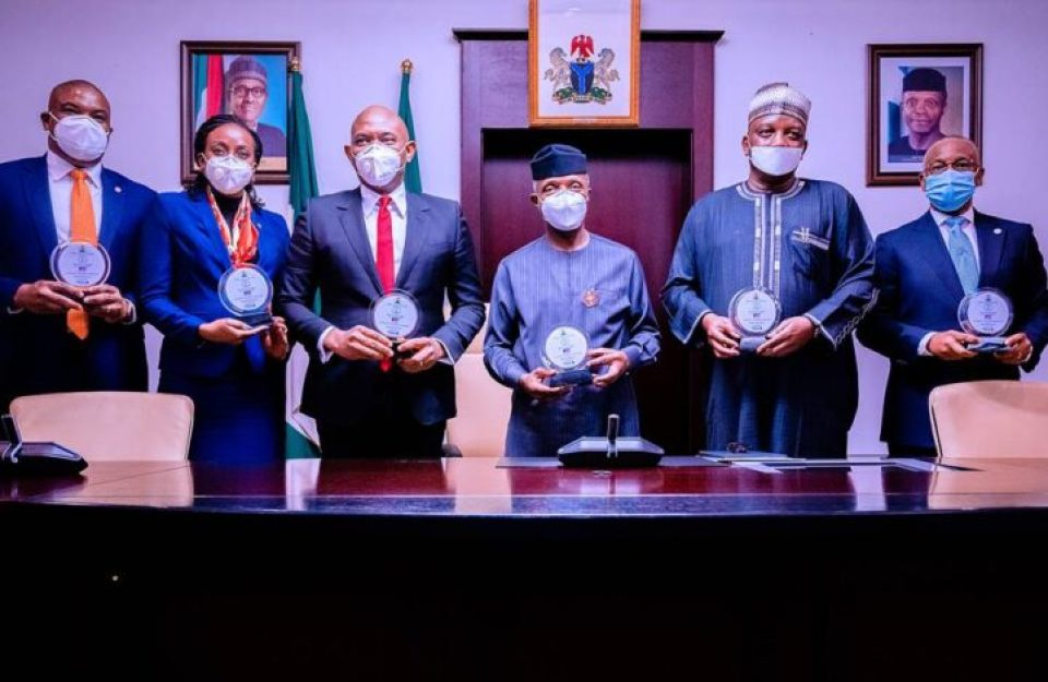business file - signing ceremony of the sale of FGN's 100% equity in Afam Power Plc/Afam Three Fast Power Limited to Transcorp Consortium