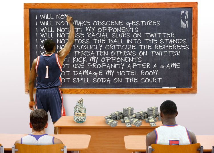 Rules from NBA
