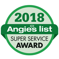 Angie's List Super Service Award 2018 logo