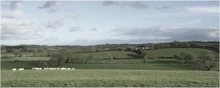 View from Glenarb townland in the parish of Aghaloo, county Tyrone. Photograph taken in 2003, copyright to Alison Kilpatrick.