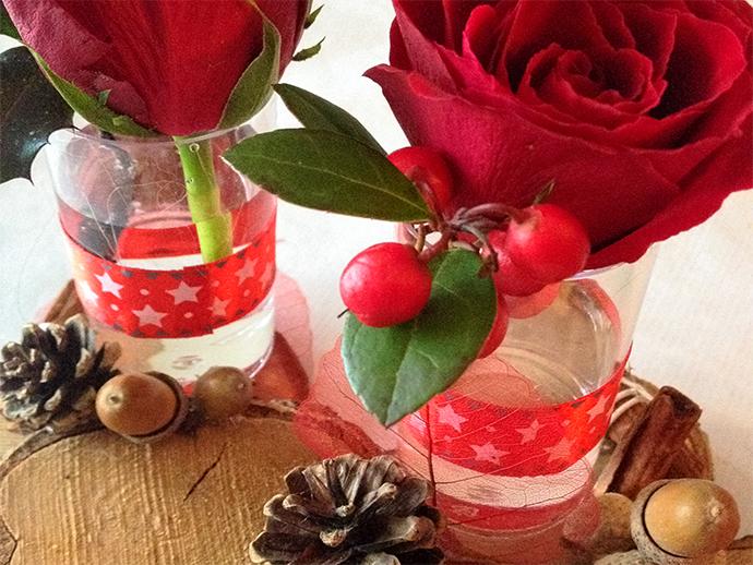 Noël nature rouge et bois