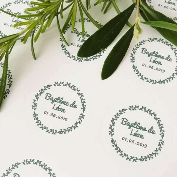 stickers mariage Oliviers