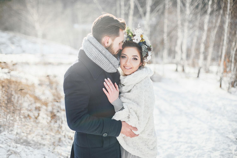 """Mariage en hiver : la tendance """"Hygge"""" débarque."""