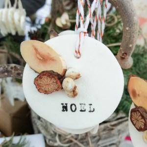 médaillon Noël