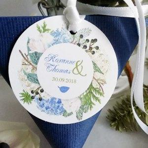 Berlingot à dragées mariage Hortense