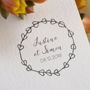 logo mariage coeur