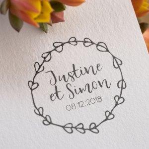 logo mariage rustique
