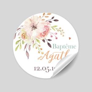 stickers baptême