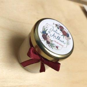 Bougie parfumée mariage ©Tree To Shop