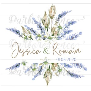 Collection mariage Lavande Nigelle