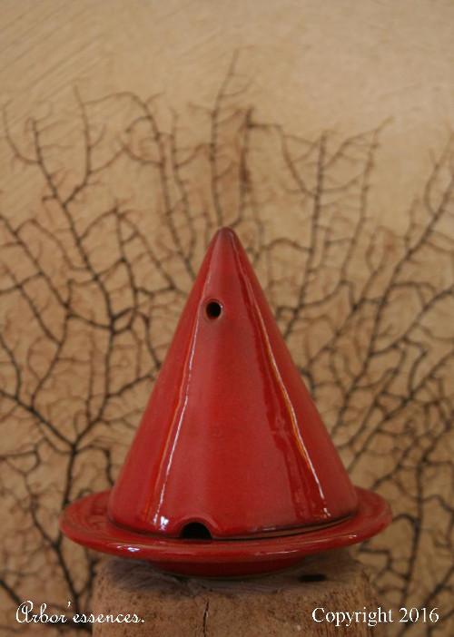 Lampe Merlin Rouge Arbor Essences