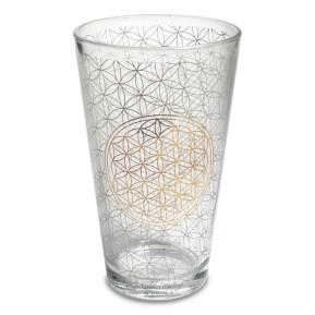 verre fleur de vie