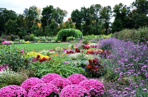 display garden esplanade arboretum