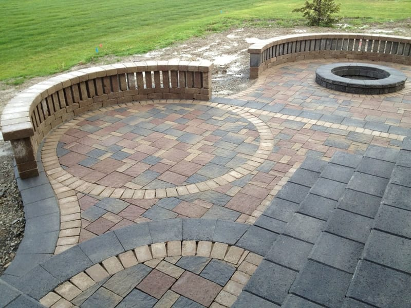 Patio Pavers Landscaping Designs  Arbor Hills Trees