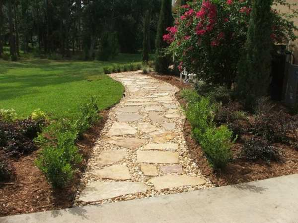 landscaping stepping stones omaha