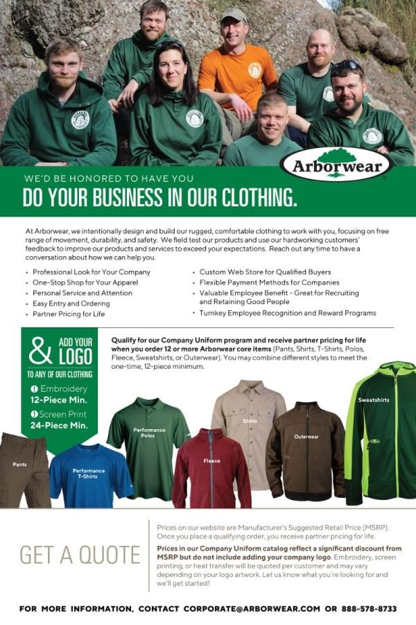 custom work uniforms & landscaping