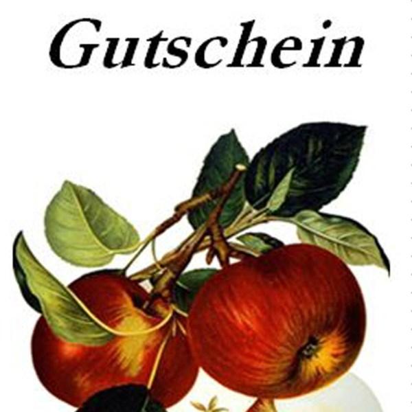 Gutschein - Zubehoer - Alte Obstsorten Arboterra GmbH
