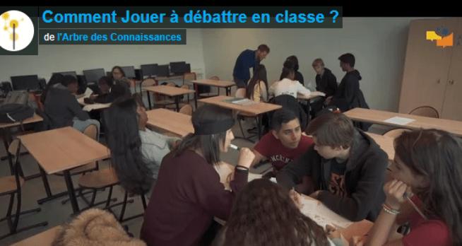 «Comment jouer à débattre en classe ?» Le nouveau film JAD !