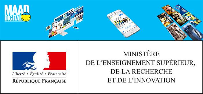 Haut patronage de Mme Frédérique Vidal pour Maad Digital