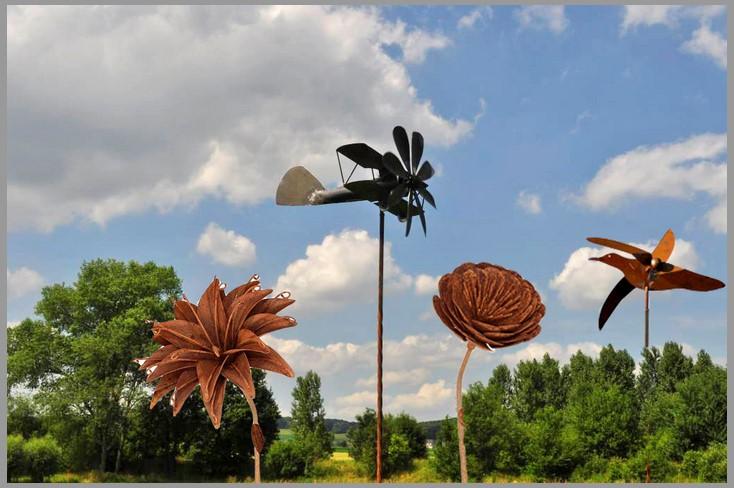 deco de jardin arbres fleurs