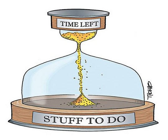 Stuff Time Management and Get Things Done! 6 Tips….